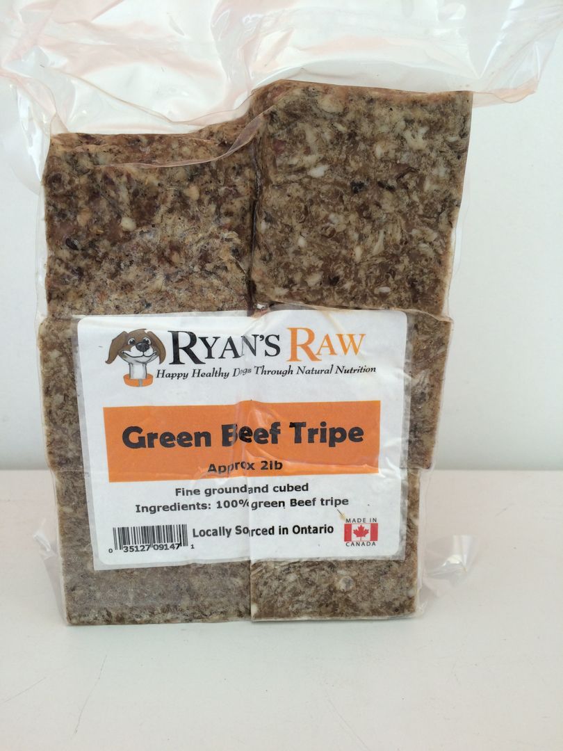 Green Beef Tripe Pawsitive Canine Connection